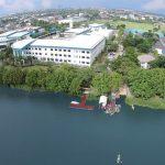曼谷哈罗国际学校的高空鸟瞰图