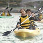 查德威克国际学校的学生划船