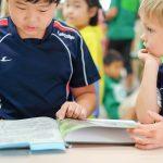 查德威克国际学校的学生一起学习