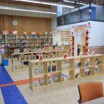 庆南国际外国学校的图书馆