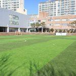 庆南国际外国学校的运动场
