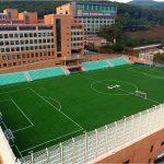 韩国国际学校板桥校区的运动场