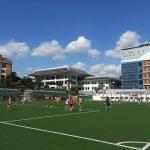 首尔国际学校的运动场