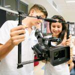 UWC东南亚的学生拍摄小电影