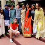 拉各斯美国国际学校的学生传统传统服装