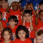 拉各斯美国国际学校的小可爱小朋友们