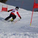 博苏蕾高山学院的学生在滑雪