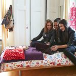 布里兰特蒙特国际学校的学生在寝室里