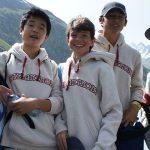 布里兰特蒙特国际学校的学生春游