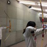 布里兰特蒙特国际学校的学生射箭