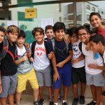开罗美国学校的6年级学生们