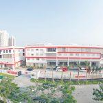 加拿大国际学校的教学楼