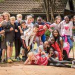 肯尼亚国际学校的学生们户外集体照