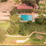 肯尼亚国际学校的鸟瞰图