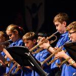 楚格和卢塞恩国际学校的学生乐队演奏