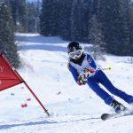 萝实学院的学生在滑雪