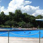萝实学院的游泳池