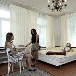 罗森堡学院的学生寝室