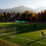 圣乔治国际学校的足球场