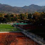 圣乔治国际学校的整个室外运动场