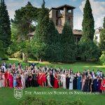 瑞士美国学校的学生舞会