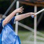 河内联合国国际学校的学生打棒球