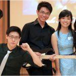 英华国际学校的乐队组合