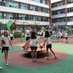 新加坡德国欧洲学校的游乐场