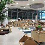 新加坡德国欧洲学校的室内玩具室