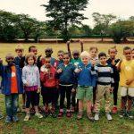 莫希国际学校的学生们在户外活动