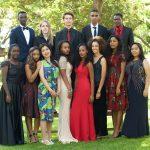 莫希国际学校的学生们参加晚会合影