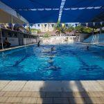坦噶尼喀国际学校的游泳池