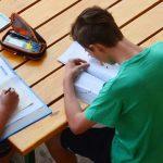 基加利国际社区学校的学生在认真学习