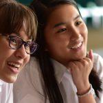 圣若瑟书院国际学校的学生在开心听课