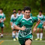 圣若瑟书院国际学校的学生奔跑在赛场上