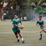 圣若瑟书院国际学校的学生打橄榄球