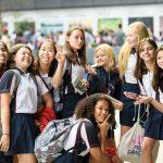 斯坦福美国国际学校的学生个性集体照