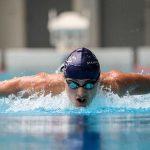 斯坦福美国国际学校的学生参加游泳比赛