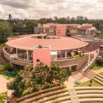肯尼亚国际学校的全景