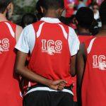 亚的斯亚贝巴国际社区学校的学生背面照片